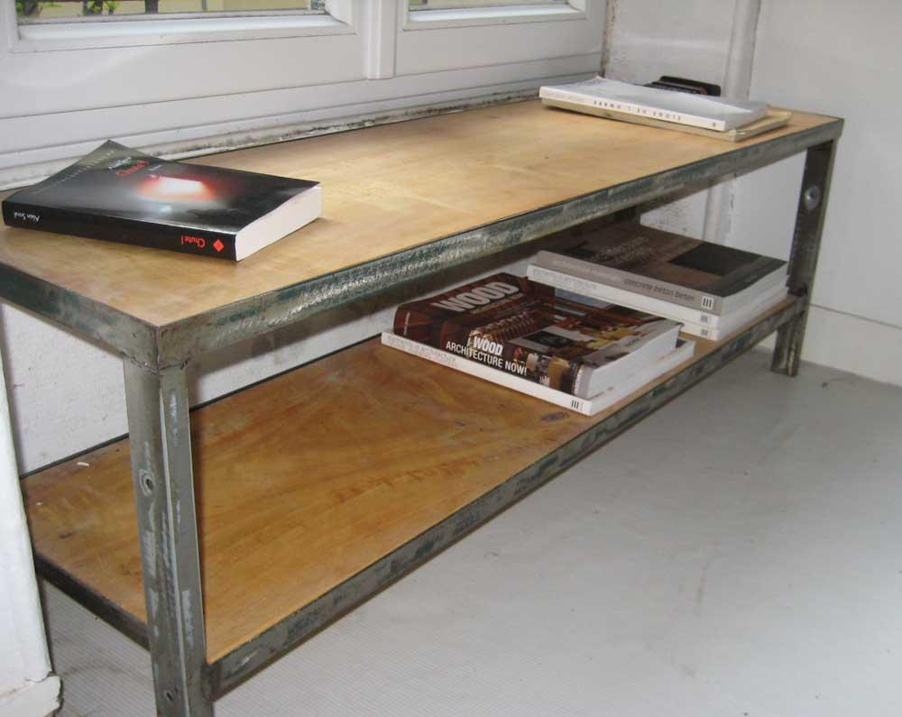 banc d embrassure reactivedesign meubles acier. Black Bedroom Furniture Sets. Home Design Ideas