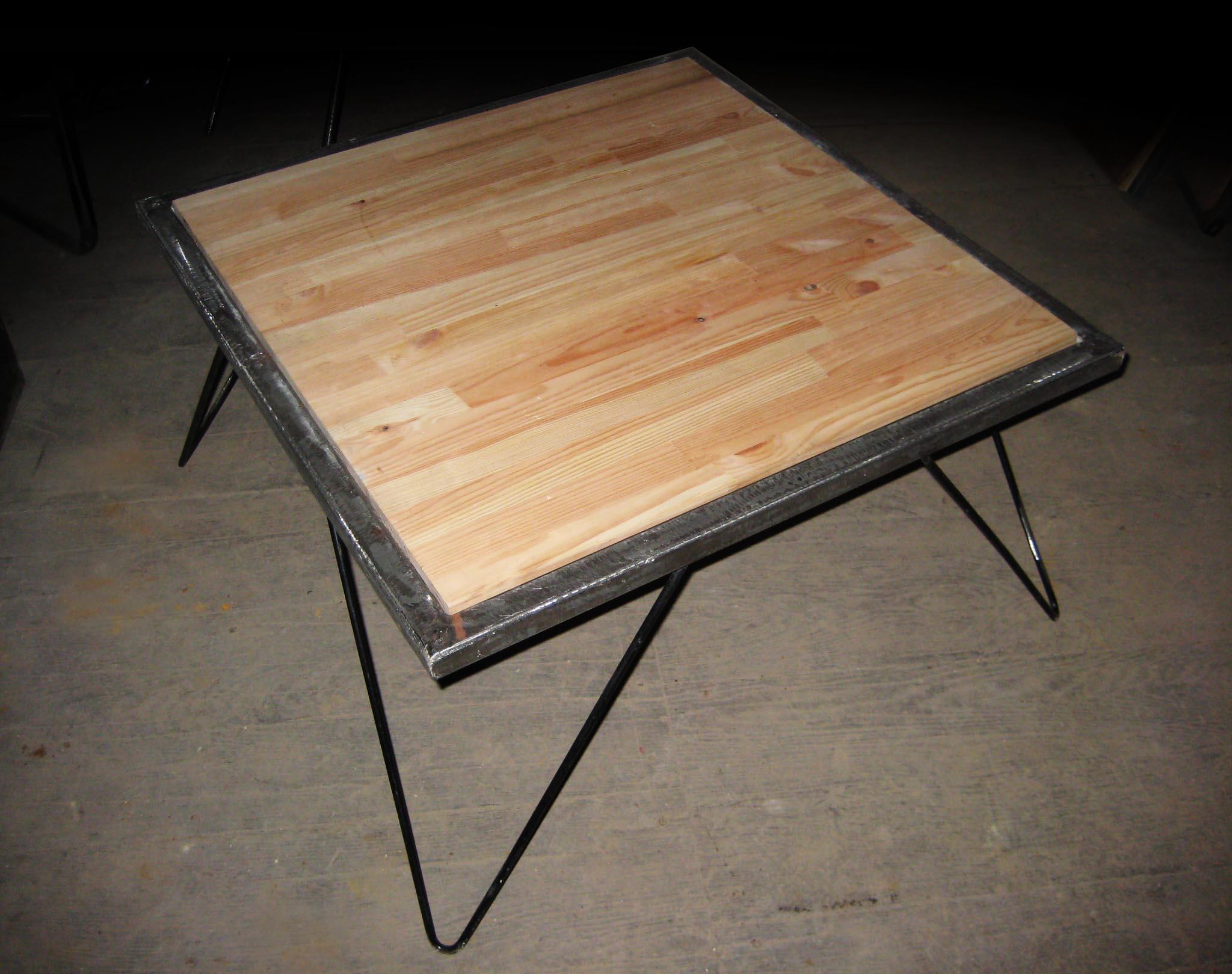 Tables Basses Reactivedesign Meubles Acier # Mode De Table De Basse